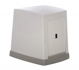 Диспенсер для салфеток 135x135x105 мм, белый [NP80]